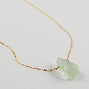 unikat – naszyjnik z kryształem górskim łezką – kamienie do wyboru