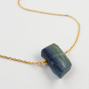 unikat – naszyjnik z kyanitem równoległobokiem – kamienie do wyboru