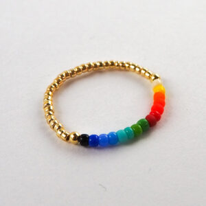 Pierścionek kolorowy