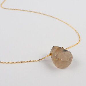 unikat – naszyjnik z kwarcem rutylowym – kamienie do wyboru