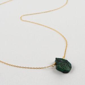 unikat – naszyjnik z turkusem łezką – kamienie do wyboru