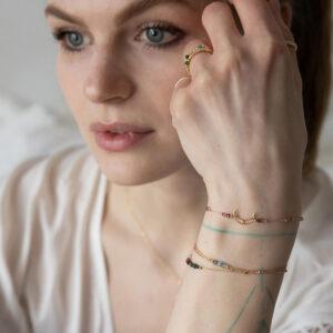 bransoletka znaki zodiaku z księżycem